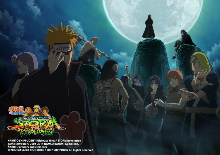 """Naruto Shippuden: Ultimate Ninja Storm Revolution"" - Formation of the Akatsuki"