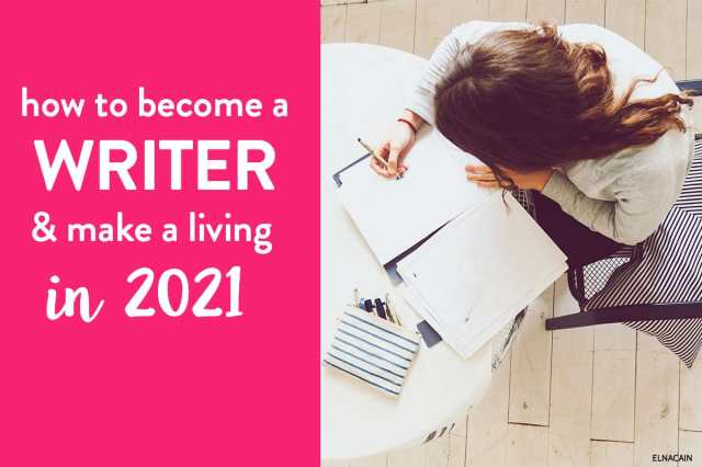 How to Become a Writer And Make a Living in 8 (Complete Guide
