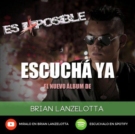 LANZAMIENTO DEL NUEVO ALBUM DE BRIAN LANZELOTTA