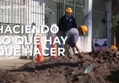 Saredi destaca las obras para los vecinos de Laferrere