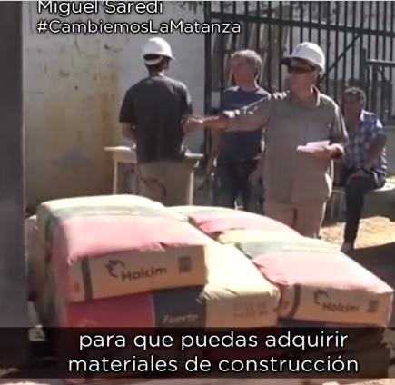 """Miguel Saredi explica como es el programa """"Mejor Hogar, Materiales de Construcción"""" de Procrear"""