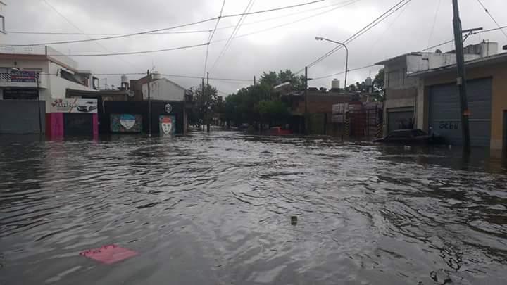 LLUVIAS: Nuevos desbordes en el Arroyo Dupuy de Laferrere