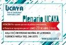UNLaM| Plenario de Ucaya