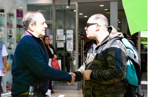 """Miguel Saredi: """"Queremos el SAME en La Matanza"""""""