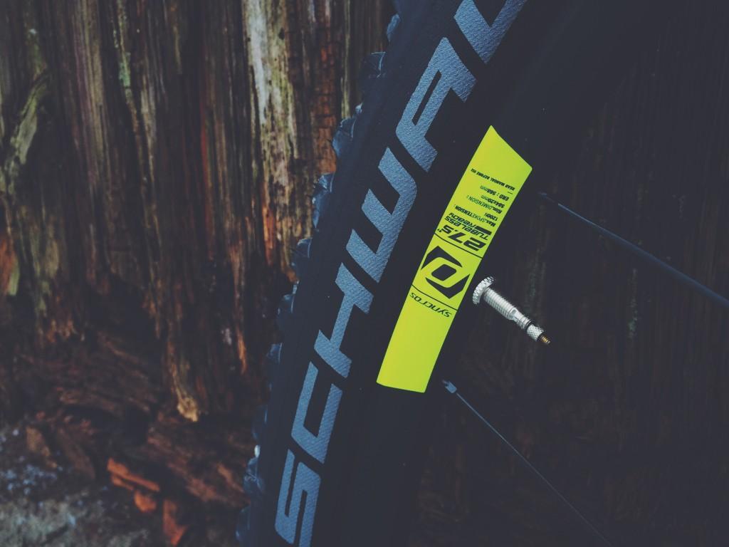 Scott Spark 2016 Syncros wheel set
