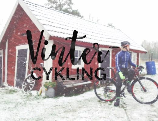Vintercykling