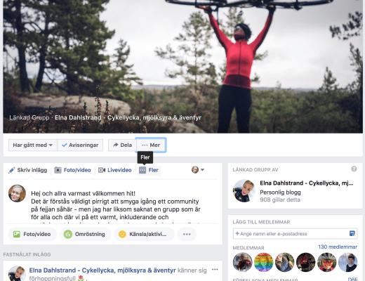 Cykellycka på facebook
