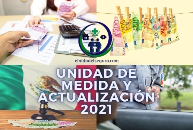 VALOR UMA 2021 UNIDAD DE MEDIDA Y ACTUALIZACIÓN