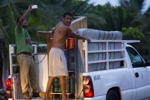 Residents Evacuated Mexico