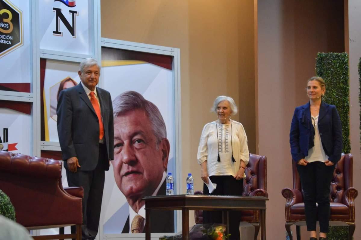 Exitosa presentación de AMLO en Nuevo Laredo