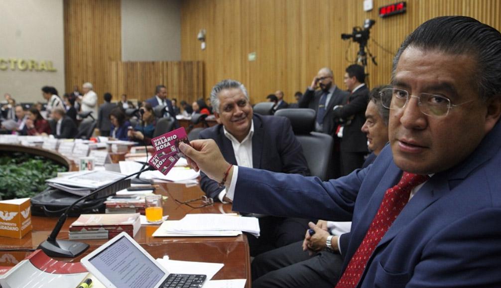 INE desecha queja por financiamiento de OHL a Del Mazo