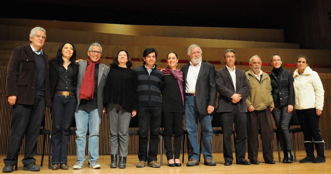 """Claudia Sheinbaum presenta equipo de trabajo y Programa Innovación y Esperanza para la Ciudad de México""""."""