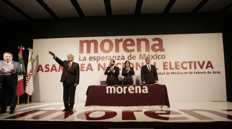 Rinde AMLO protesta como candidato a la Presidencia de México (VIDEO)