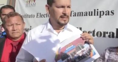 Denuncia Morena Nuevo Laredo a Enrique Rivas por actos anticipados de campaña