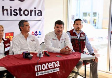 Ataques a Morena solo indica que vamos adelante: Tico Cantú