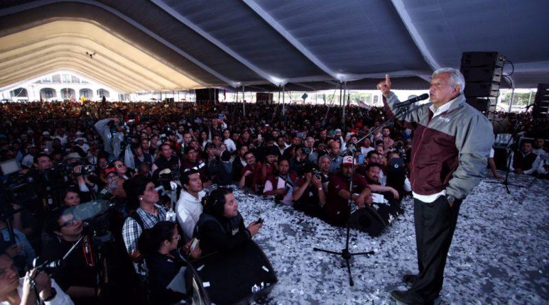 Anuncia AMLO que el 3 de julio pedirá audiencia con Peña Nieto para tratar el tema del aeropuerto