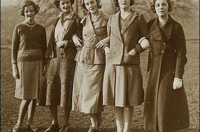 Las hermanas Mitford, que no parecen sacadas de una novela de Louisa May Alcott