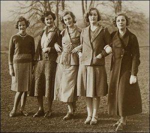 Las Mitford, en 1935