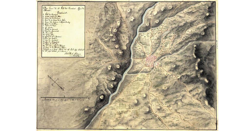 28 de enero de 1744: Mal estado de los caminos