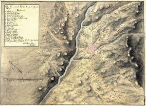 Principales caminos de Caravaca a principios del XIX