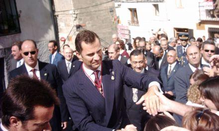El rey Felipe VI y Caravaca