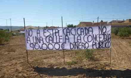 «El Alcalde de Caravaca va a gastar 90.000 u20ac para abrir una calle en Pinilla que no hace falta»