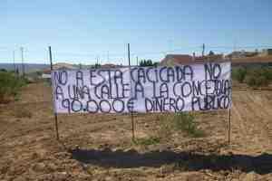Protesta en Pinilla