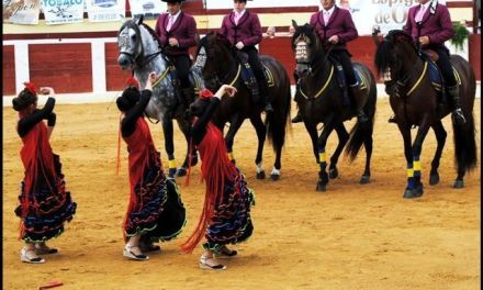 Espectáculo de danza ecuestre en Calasparra