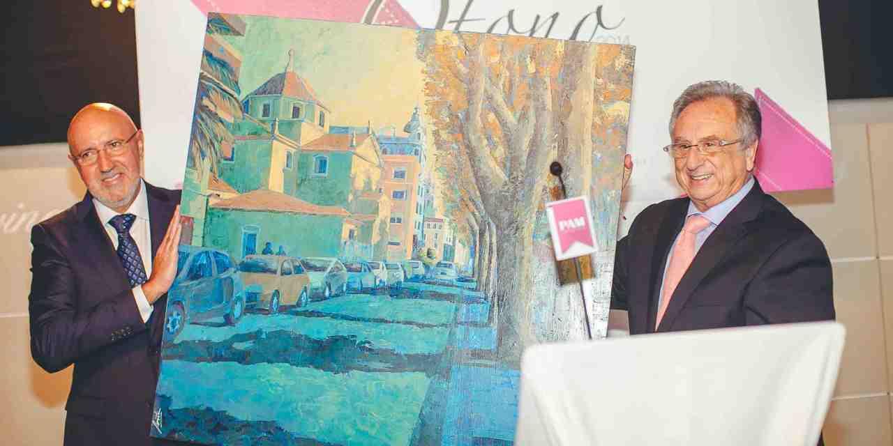 Alfonso López Rueda, premiado por la comunidad PAM Empresas