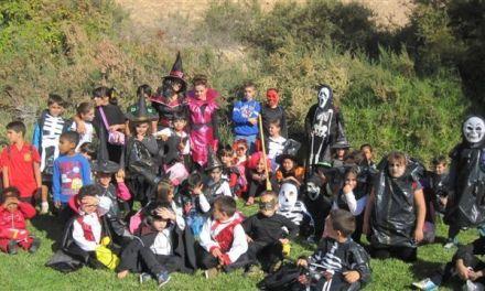 El San Francisco celebra Halloween en el castillo encantado de Lorca