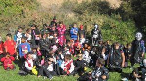 Alumnos del San Francisco en Halloween