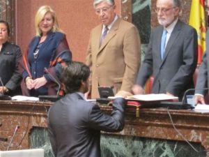 Luis Fernando Ruiz en la Asamblea