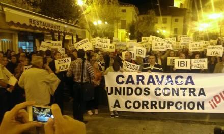 Manifiesto leído en la concentración en la Plaza del Arco de Caravaca