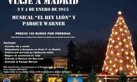 Juventud organiza un tercer viaje a Madrid para ver el musical 'El Rey León' los días 3 y 4 de enero