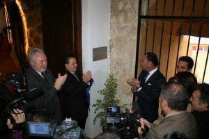 Pepín Liria inaugura el Club Taurino