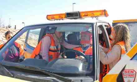 Voluntarios del Servicio de Emergencias del Noroeste realizan en Bullas un curso