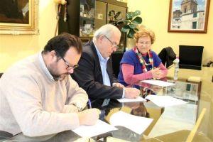 Firma del convenio de rehabilitación psicosocial