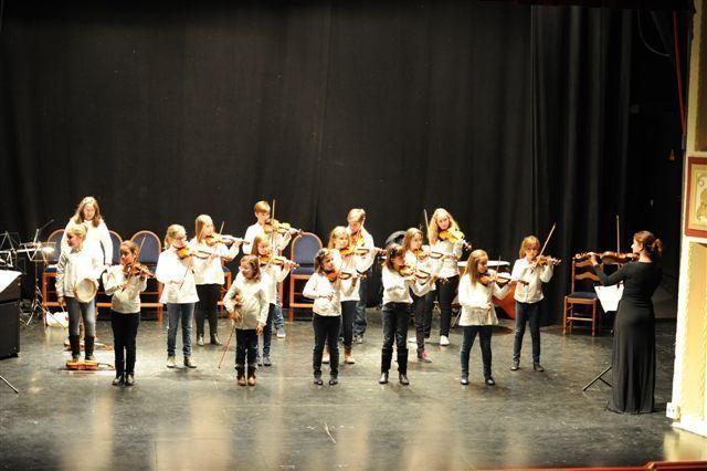 La apuesta del Conservatorio de Caravaca por el departamento de cuerda