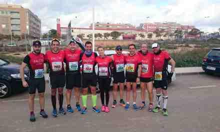 Tres clubes de la comarca en la media maratón de Santa Pola