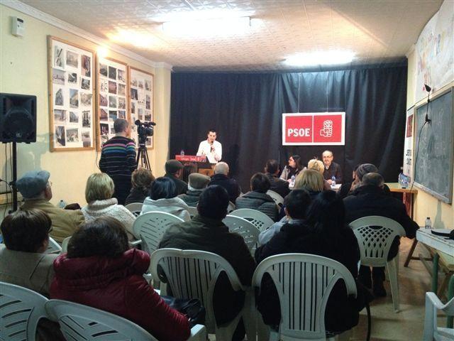 José Rafael Rocamora es elegido en asamblea por aclamación como candidato a la Alcaldía de Cehegín por el PSOE