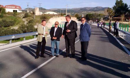 El equipo de Gobierno del PP de Moratalla concluye las obras del Puente del Comendador
