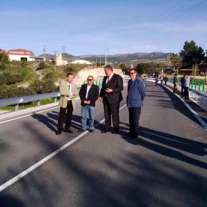 Inauguración del Puente del Comendador