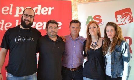 José Santos Abril, candidato de IU-Verdes a la Alcaldía de Cehegín
