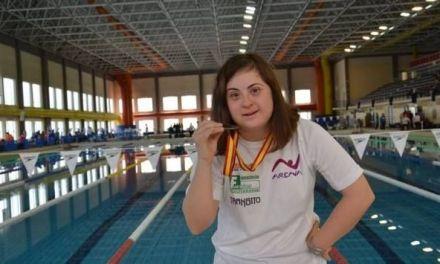 La nadadora ceheginera Loli de Gea se proclama de nuevo campeona de España