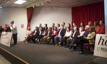 El PSOE de Pepe Moreno Medina presenta una renovada lista electoral