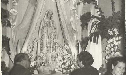El recorrido doméstico de la Virgen de Fátima