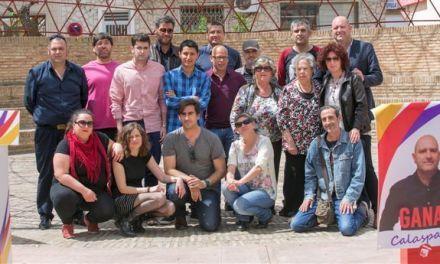Ganar Calasparra presenta su candidatura con el 50% de la lista renovada