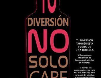 La Concejalía de Juventud de Caravaca desarrolla la tercera edición de la campaña para prevenir el consumo de alcohol en menores