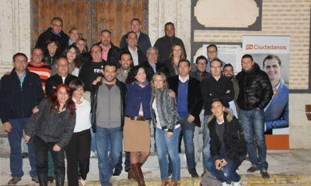 Ciudadanos Cehegín presenta su lista electoral para las próximas elecciones municipales