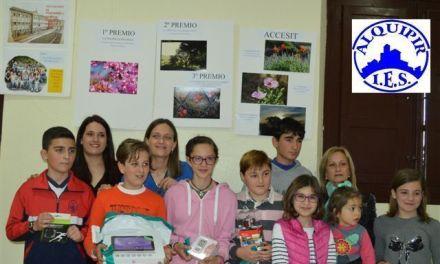 El IES Alquipir de Cehegín entrega los premios del VIII Concurso de Fotografía